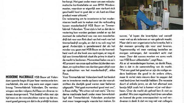 Artikel Houtwereld nov 2011
