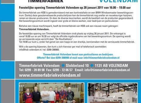 28 januari 2011 Feestelijke Opening